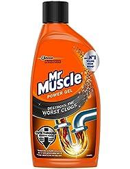 Mr Muscle Power Gel Drain Unblocker, 500 ml