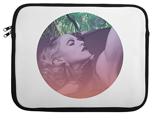 Legendary Singer Actress Portrait Laptop Case 13