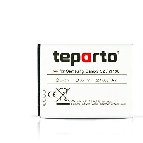 teparto Akku für Samsung Galaxy S2 GT-I9100 ersetzt EB-F1A2GBU