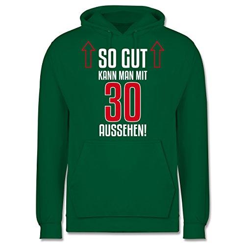 Geburtstag - So gut kann man mit 30 aussehen - Männer Premium Kapuzenpullover / Hoodie Grün