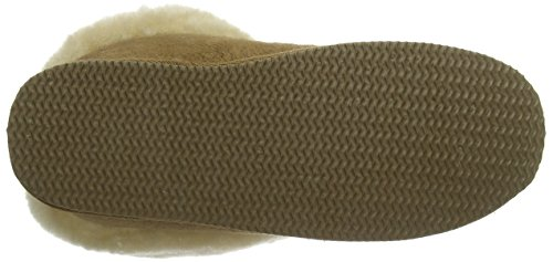 Shepherd - Lena, Pantofole Donna Beige (Beige (Chestnut))