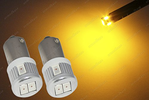 lot-de-2-ampoules-baonnette-led-smd-hid-jaune-ambre-orange-233t4w-ba9s