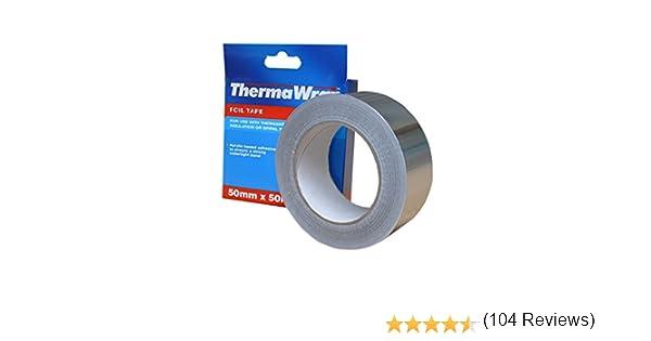Thermawrap Ruban daluminium adh/ésif pour isolation /étanche 50 m x 50 mm x 50 x 30 m