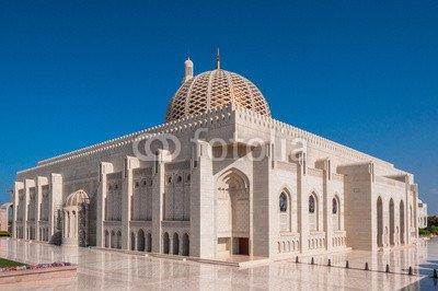 Sultan Qaboos Grand Mosque, Muscat, Oman (76328916), Aluminium-Dibond, 120 x 80 cm
