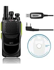 Baofeng Pofung GT-1UHF 400–470MHz FM Radio portátil 50CTCSS/105CDCSS FM 1800mAh batería recargable (Naranja)