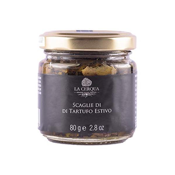 Scaglie di tartufo estivo - 80 gr - La Cerqua