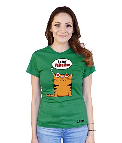 Colour Fashion T-shirt - Donna Green