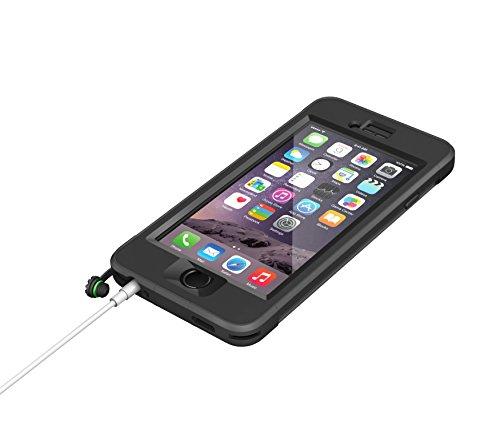 LifeProof Nüüd wasserdichte Schutzhülle für Apple iPhone 6, Schwarz schwarz