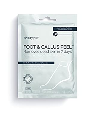 BeautyPro FOOT & CALLUS PEEL with over 17 botanical & fruit extracts