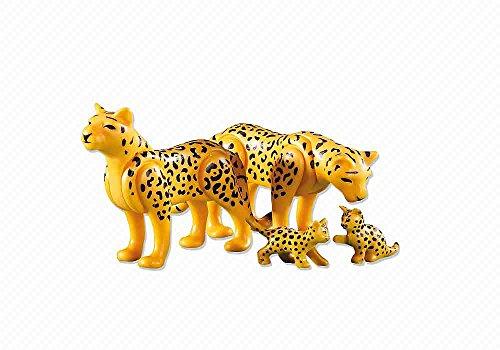 Playmobil 6361. Leopardos con Bebes