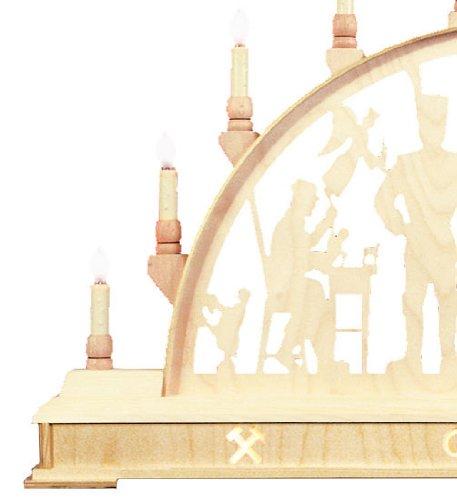 Candle Arch - Mineros Glück auf! - 78cm x 45 cm / 31 x 18 pulgadas - Seidel