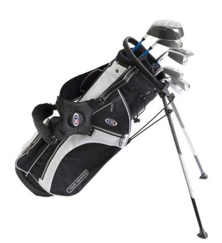 USK TS 54-37 Starterset (7 teilig Graphit) mit PVD Lack (Golf Clubs Für Jugendliche)