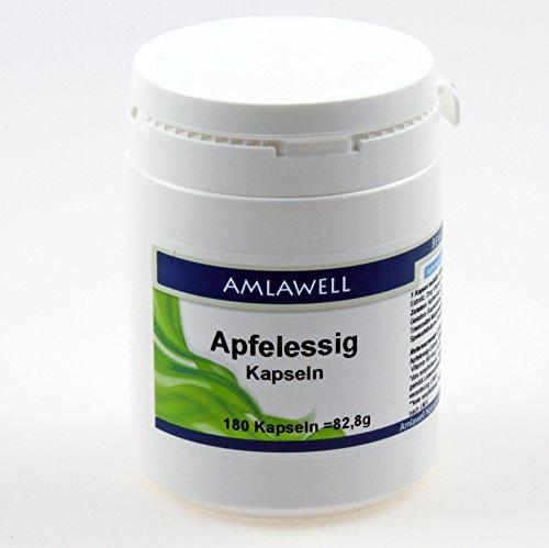 Amlawell Apfelessig Kapseln, 180 Kapseln