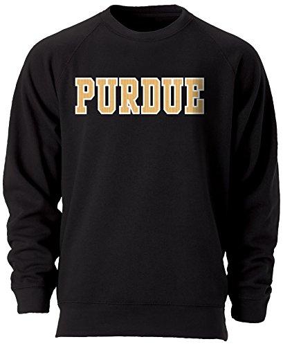 Ouray Sportswear NCAA Erwachsene Benchmark Crew, Benchmark Crew, schwarz, X-Large Black Collegiate Crew Sweatshirt