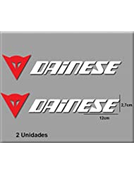 PEGATINAS STICKERS DAINESE R92 AUFKLEBER DECALS AUTOCOLLANTS ADESIVI (ROJO BLANCO/RED WHITE)