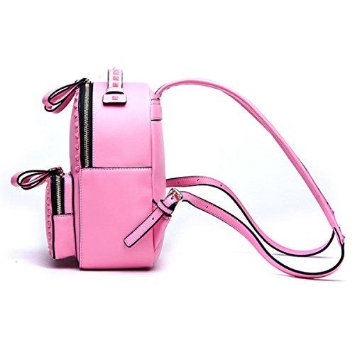 Donne Rivetti Borse A Tracolla Zaino Da Viaggio Pink