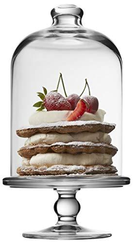 Sweet Home Cloche en Verre pour Les Bonbons cod.CC00520LU cm 9,5h diam.8,2 by Varotto /& Co.