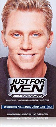 Just for Men Pflege-Tönungs Shampoo Haarfärbemittel, Natur hellbraun, 1 Stück H25
