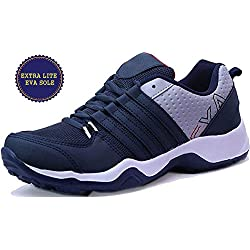 Ethics Perfect Navy Blue Sport Shoes for Men (8, N Blue)