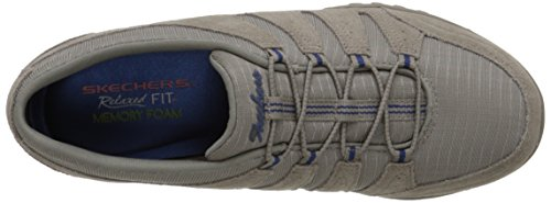 Skechers - Breathe Easy Imagine, Scarpe da ginnastica Donna Beige (Beige (Stn))
