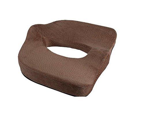 Preisvergleich Produktbild Crazy Cart Sitzkissen–Auto Sitzkissen–Stuhlkissen–Ischias Kissen–Prostata Kissen–Hämorrhoiden zur Rückenschmerzen Kissen–Steißbein Kissen–Steißbein
