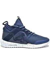 Drunknmunky Sneakers alte scarpe uomo navy DENVER CHROME 400 4646e484d81