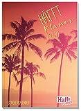 Häfft PLANER A5 2019/2020 [California Dreaming] Cahier de devoirs, Agenda scolaire, journal scolaire, agenda scolaire, planning scolaire avec coussins passionnants et autocollants amusants...