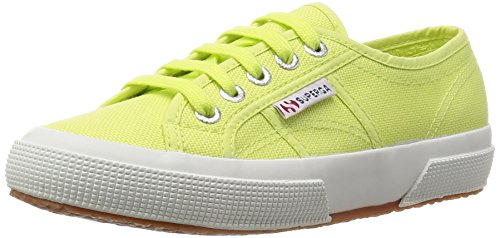 Superga 2750 Cotu Classic, Sneakers Unisex - Adulto Verde (Sunny Lime Sd37)