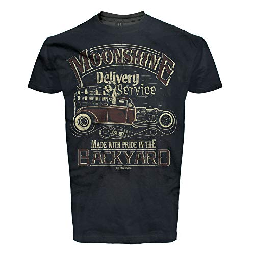 ROAD RODEO T-Shirt Party, Rock'n'Roll, Pick Up, Schnaps, Moonshine ()
