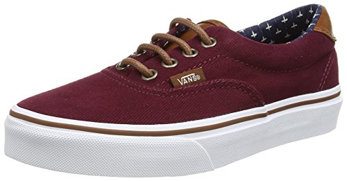 Vans Era 59, Unisex Adults' Low-Top Sneakers, Red, 4.5 UK