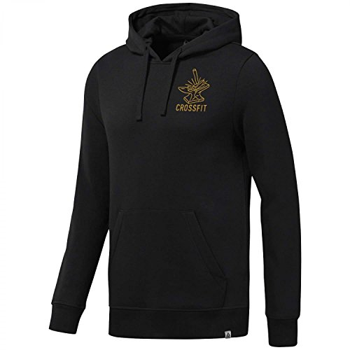 Reebok CF IWC Anvil Pullov, T-Shirt Uomo, Black, L