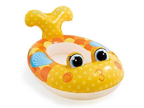 Intex Pool-Cruiser Boot, Wasserspielzeug, Haifisch, grau