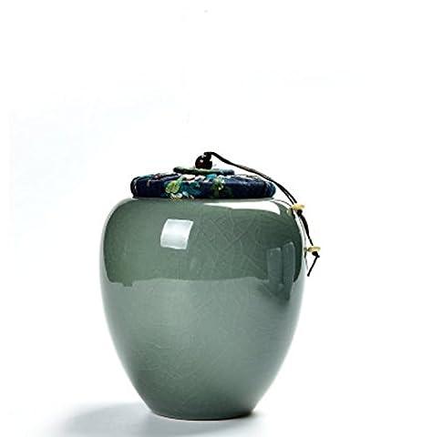 WVAB Pot en céramique de thé de Jarre celadon ,9