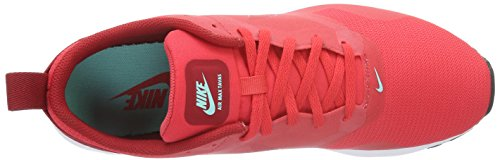 Nike Air Max Tavas, Baskets Basses Homme Rouge (Action Red/Action Red-Gym Red-White)