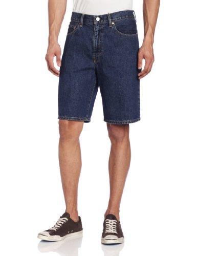 Levis Low Rise Shorts (Levi's Men's 550 Short , Dark Stonewash, 36)