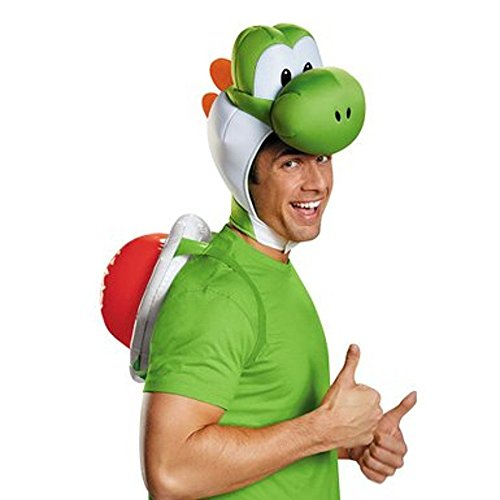 Up Dress Kostüm Mario Super - MyPartyShirt Yoshi Adult Costume Kit