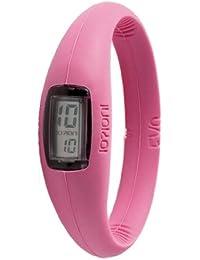 IO?ION! E-FCH09-III - Reloj digital de cuarzo unisex con correa de silicona, color rosa