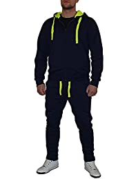 S&LU Angesagter Herren-Trainings-Anzug Jogginganzug im Multicolor-Look