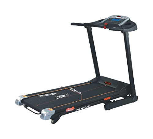 With Multimedia Ready - Pro Bodyline Motorised Treadmill With Hydraulic Suspension