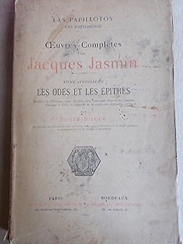 Oeuvres complètes de Jacques Jasmin. Las papillotos.Tome troisième : Les