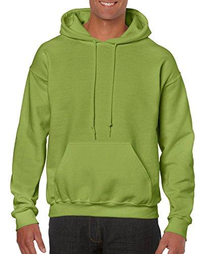 Gildan Schwerer Stoff Kapuzenpulli Grün - Kiwi