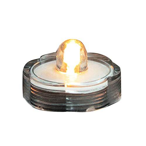 Miji 12st Farbwechsel LED Kerzen Hot Submersible batteriebetriebenes LED-Teelichter BlumenVase Wasserdicht Hochzeit Dekorieren Lampe elektronische Kerze