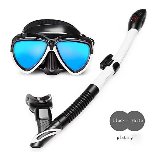 Mindruer Anti-Fog-Brille Tauchen schnorchelausrüstung Set Erwachsene Kinder Anti-Fog trocken...