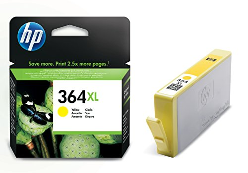 HP 364XL Gelb Original Druckerpatrone mit hoher Reichweite für HP Photosmart, HP Officejet, HP Deskjet (Hp 7 Plus)