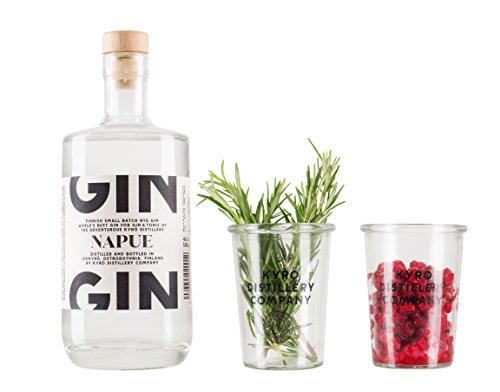 Kyrö Napue Rye Gin 46,3% - 500 ml + 2 Gläser