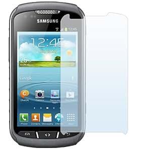 x3 Stück Displayschutzfolie Schutzfolie für Samsung Galaxy Xcover 2 S7710 Unsichtbare Premium Folie von PrimaCase