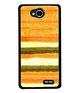 PrintVisa Designer Back Case Cover for LG L70 :: LG L70 Dual (Parallel Lines Blocks Curtain Pattern)