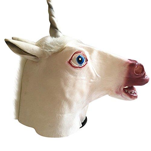 n Maske Latex Halloween Kostüm Maske für Erwachsene und Kinder Tier Kopf Maske (Beängstigend Tier Halloween-kostüme)