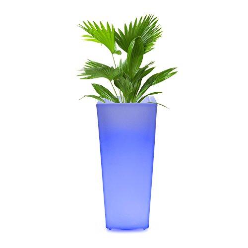 vaso di fiori LED