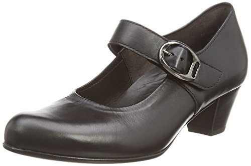 Gabor Dunelm, Mary Jane Femme Noir (black Leather)